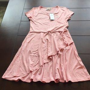 Abercrombie girls pink dress in Sz 11/12 New